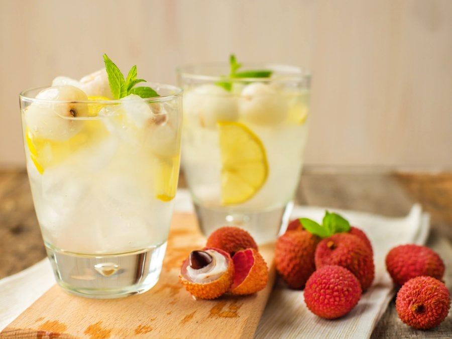 cocktail liqueur de litchi