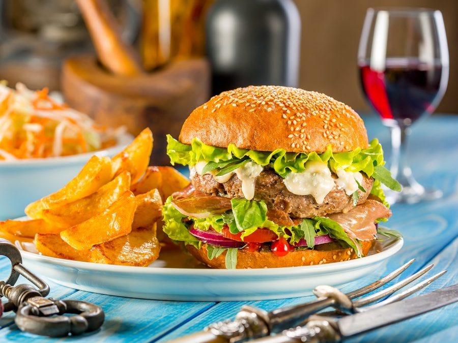 Fast food maison - hamburger