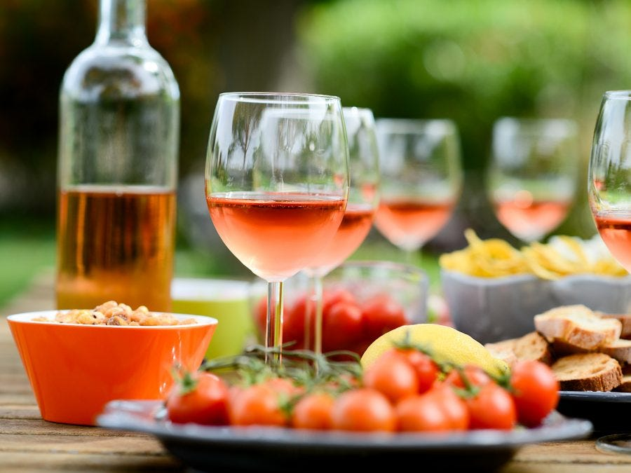 Rosé for brunch, dinner & cocktails