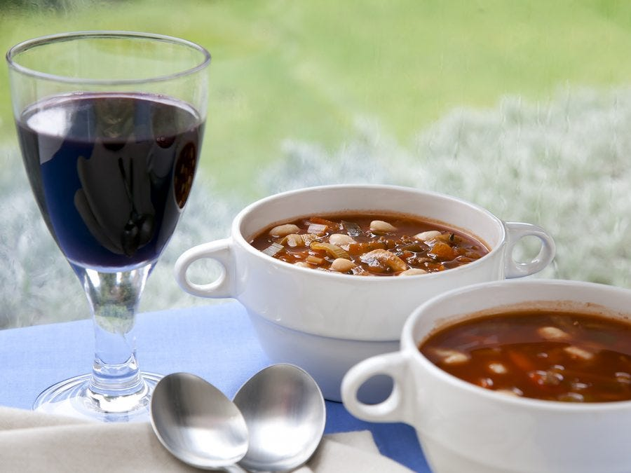 Wine and soup pairings