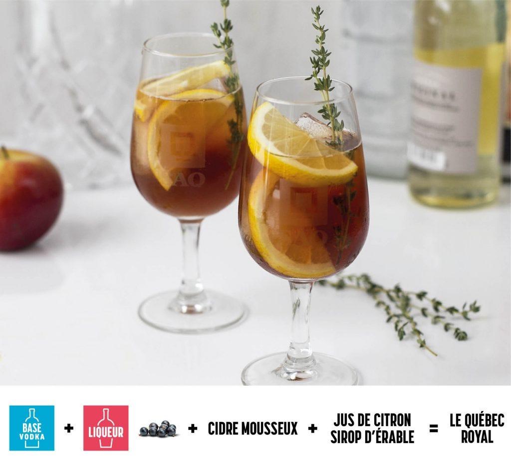 Photo du cocktail Québec Royal