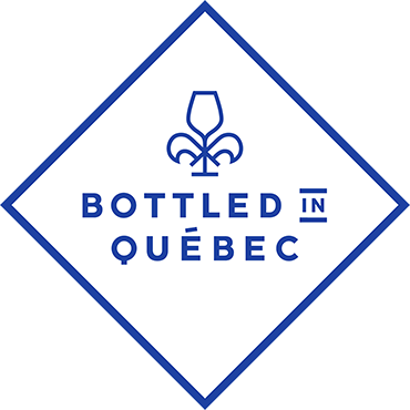 Bottled in Québec
