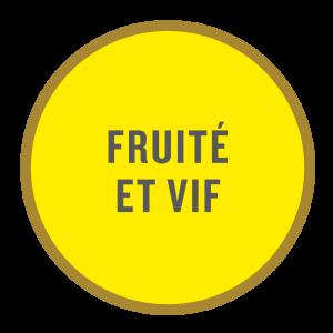 Pastille «Fruité et vif»