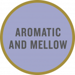 """Aromatic and mellow"" taste tag"