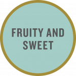 """Fruity and sweet"" taste tag"