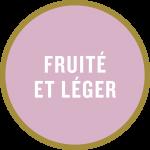Pastille «Fruité et léger»
