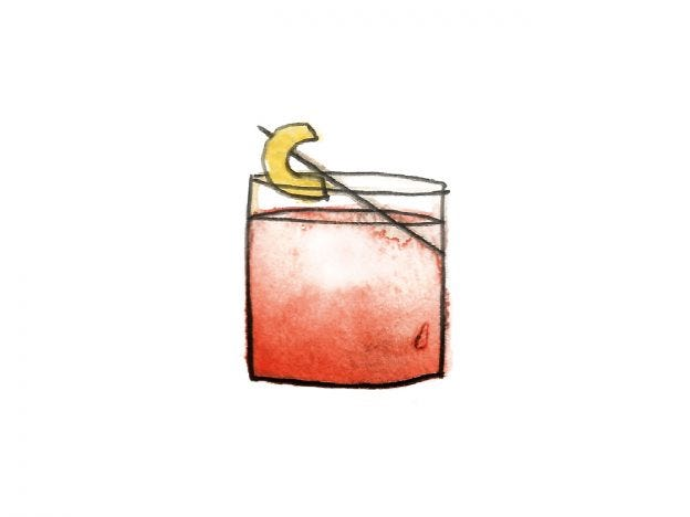 Illustration du cocktail Boulevardier