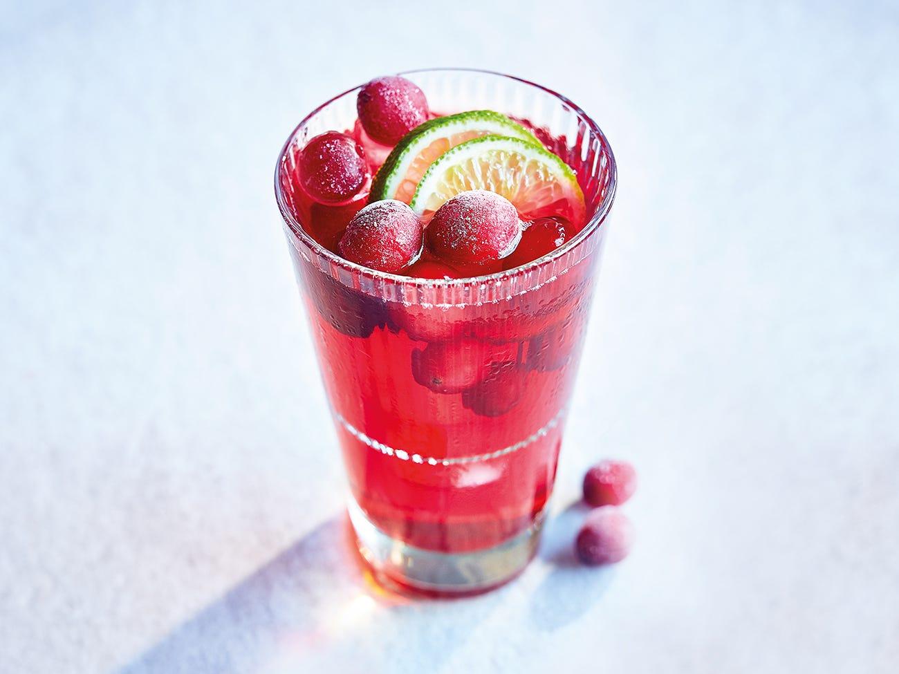 cocktail vodka canneberge