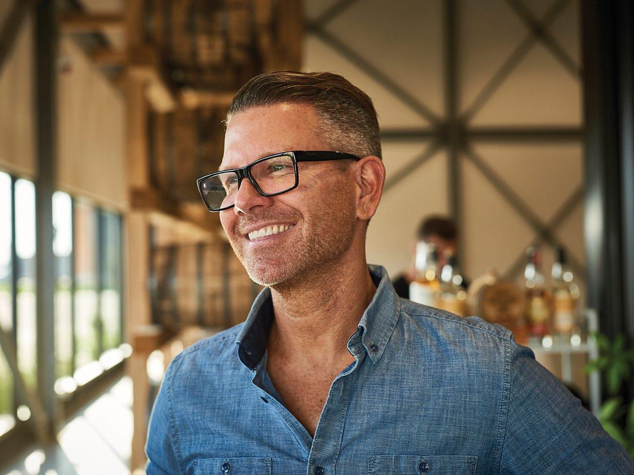 Pierre Mantha, chef de AIR Distillerie