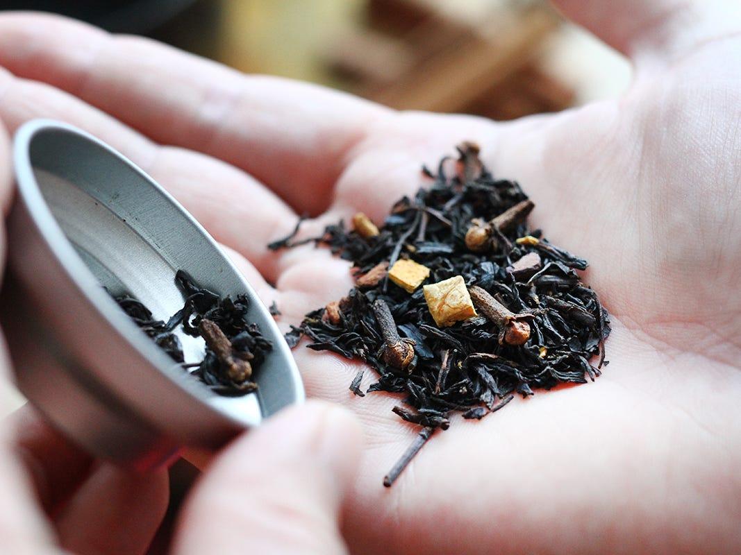 Chai tea from Monsieur T.