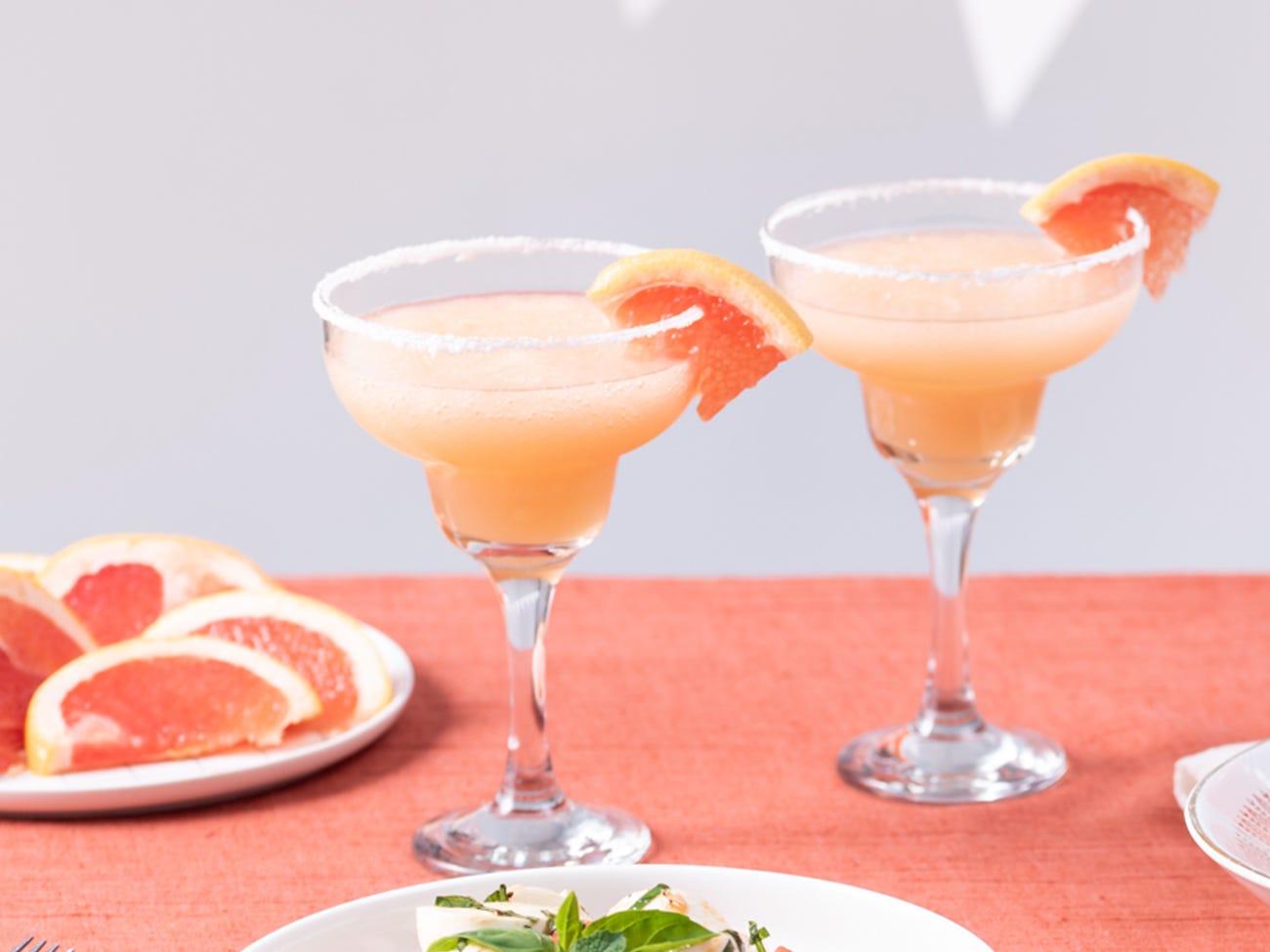 Margarita au pamplemouse