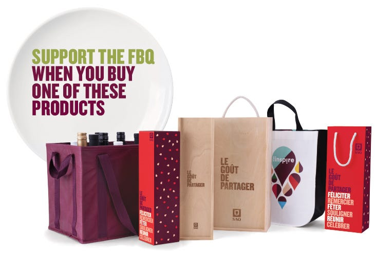 Support the FBQ when you buy one of these products