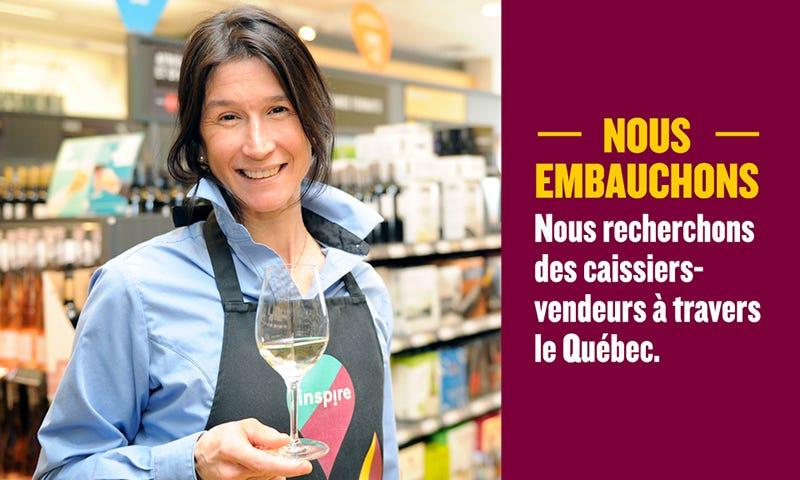 Nous embauchons des caissiers-vendeurs à travers le Québec