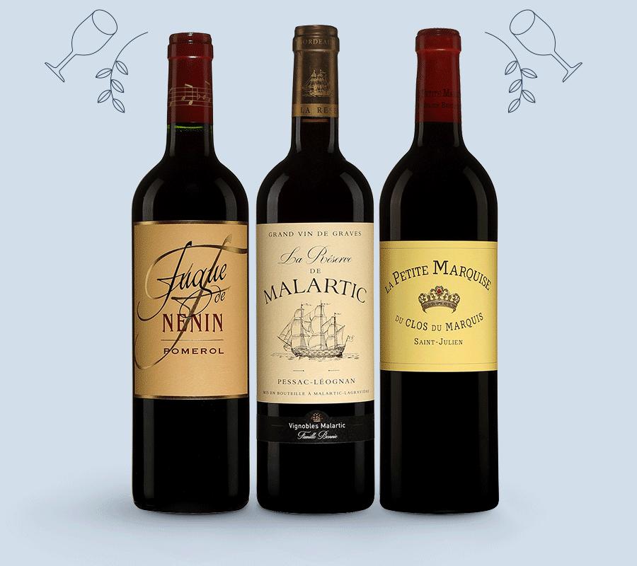 Les seconds vins de Bordeaux.