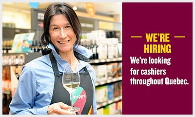 We're looking for cashiers