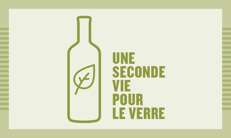 Une seconde vie pour le verre