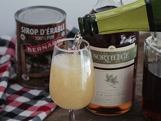 Quebec Mimosa cocktail