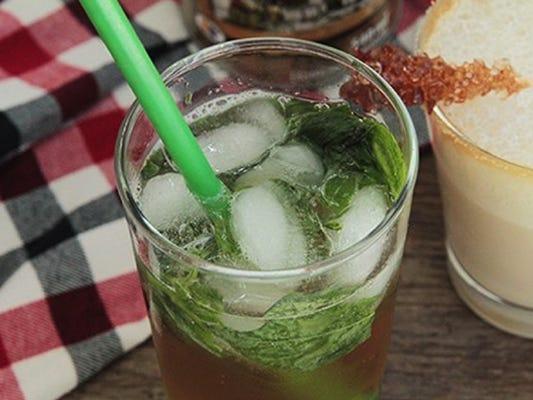 Maple Mojito cocktail