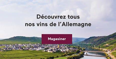 Les vins de l'Allemagne