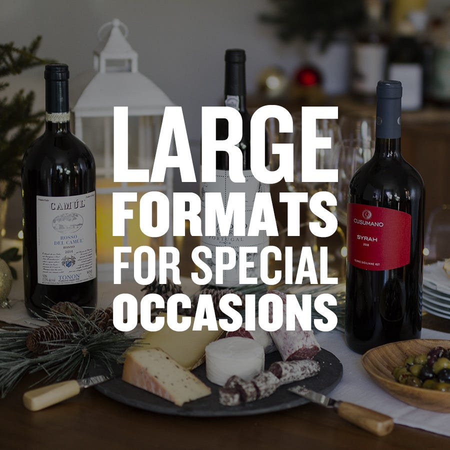 Large formats for special occasions
