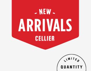 Logo New arrivals Cellier, Limited quantity