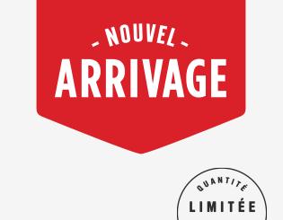 Logo Nouvel arrivage Cellier, Quantité limitée