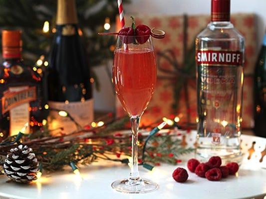 Rasptini cocktail