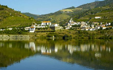 Photo du village de Douro