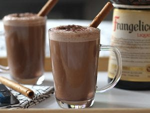 Praline Hot Chocolate