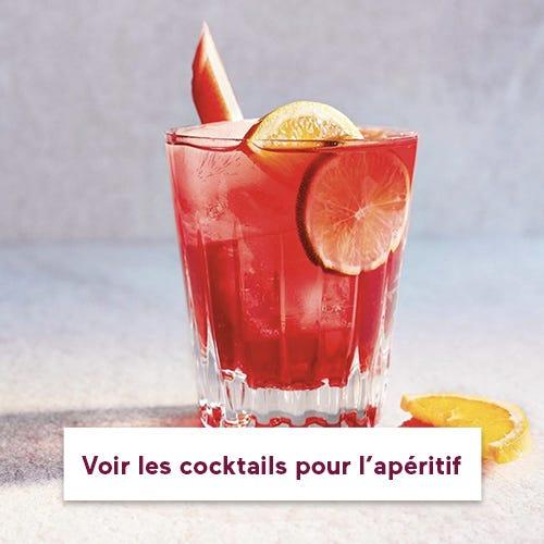 Les cocktails apéritifs