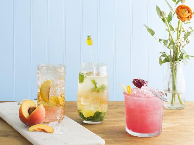 Réinventer le cocktail fruité.