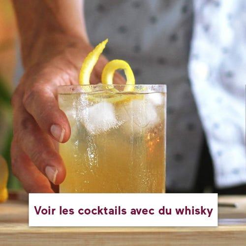 Cocktails à base de whisky.