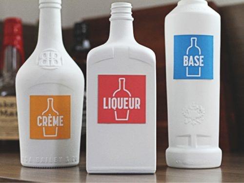 Produits essentiels du bar : base, liqueur et crème