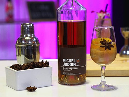 Michel Jodoin apple brandy