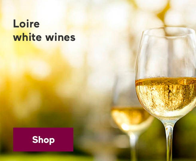 White wines from Loire.