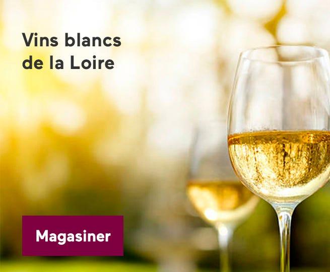 Découvrez les vins blancs de la Loire.