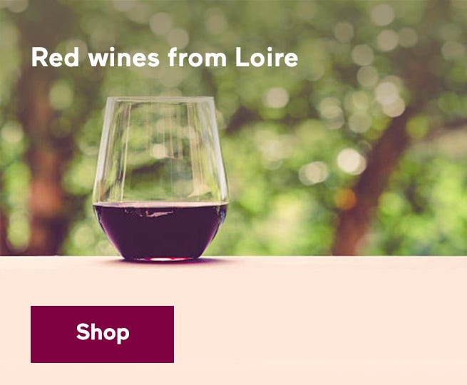 Red wines from Loire.