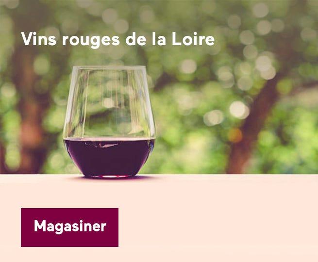 Découvrez les vins rouges de la Loire.