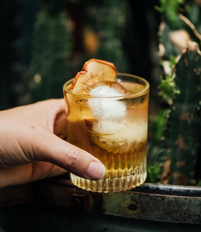 Cocktail Pomme Ambrée