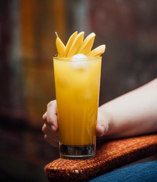 Cocktail vague fruitée