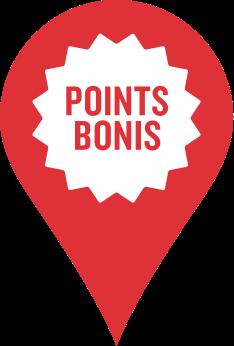 Inspire, Points Bonis