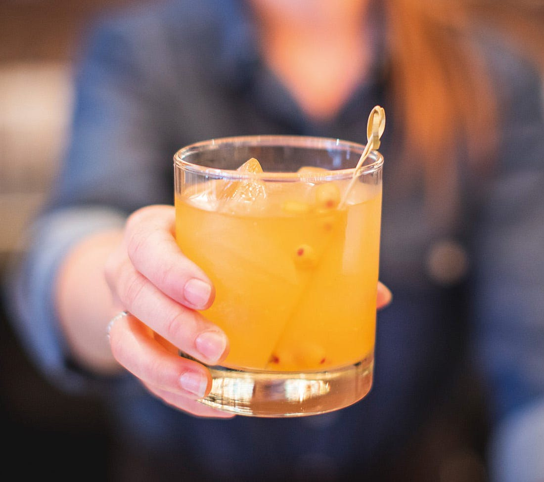 Cocktail : Old fashioned nordique