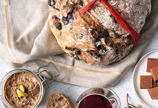 Rum-raisin bread