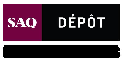 Logo SAQ Dépôt, Économisez en gros