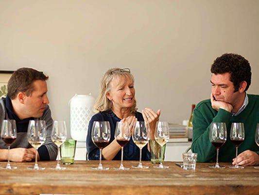 Dégustateurs de vin