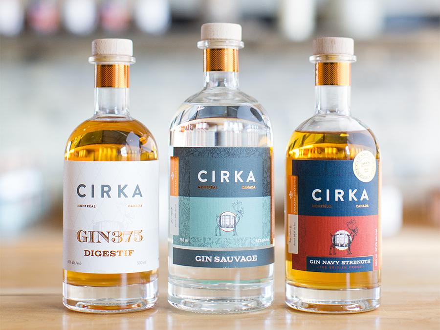 Cirka Distilleries Bottles