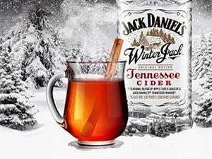 Cocktail à base de Winter Jack